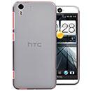 Coque HTC Desire Eye M910X Silicone Transparent Housse - Gris