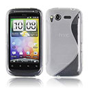 Coque HTC Desire S G12 S510e S-Line Silicone Gel Housse - Clear
