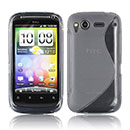 Coque HTC Desire S G12 S510e S-Line Silicone Gel Housse - Gris