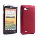 Coque HTC Desire VC T328D Plastique Etui Rigide - Rouge