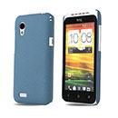Coque HTC Desire VT T328t Sables Mouvants Etui Rigide - Bleue Ciel