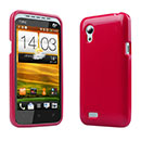 Coque HTC Desire VT T328t Silicone Gel Housse - Rouge