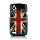 Coque HTC Desire X T328e Le drapeau du Royaume-Uni Etui Rigide - Mixtes