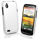 Coque HTC Desire X T328e Plastique Etui Rigide - Blanche
