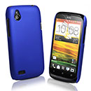 Coque HTC Desire X T328e Plastique Etui Rigide - Bleu