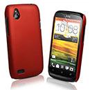 Coque HTC Desire X T328e Plastique Etui Rigide - Rouge