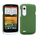 Coque HTC Desire X T328e Sables Mouvants Etui Rigide - Verte