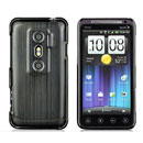 Coque HTC EVO 3D G17 Aluminium Metal Plated Etui Rigide - Noire