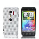 Coque HTC EVO 3D G17 Filet Plastique Etui Rigide - Blanche