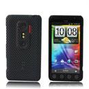Coque HTC EVO 3D G17 Filet Plastique Etui Rigide - Noire