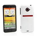 Coque HTC EVO 4G LTE X720d Plastique Etui Rigide - Blanche