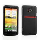 Coque HTC EVO 4G LTE X720d Plastique Etui Rigide - Noire