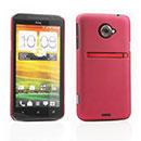 Coque HTC EVO 4G LTE X720d Plastique Etui Rigide - Rouge