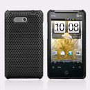 Coque HTC HD Mini T5555 Aria G9 Filet Plastique Etui Rigide - Noire