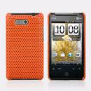 Coque HTC HD Mini T5555 Aria G9 Filet Plastique Etui Rigide - Orange