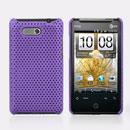 Coque HTC HD Mini T5555 Aria G9 Filet Plastique Etui Rigide - Pourpre