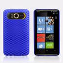 Coque HTC HD7 T9292 Filet Plastique Etui Rigide - Bleu