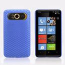 Coque HTC HD7 T9292 Filet Plastique Etui Rigide - Bleue Ciel