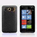 Coque HTC HD7 T9292 Filet Plastique Etui Rigide - Noire