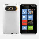 Coque HTC HD7 T9292 Plastique Etui Rigide - Blanche