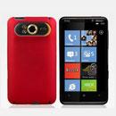 Coque HTC HD7 T9292 Plastique Etui Rigide - Rouge