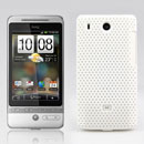Coque HTC Hero G3 A6262 Filet Plastique Etui Rigide - Blanche