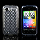 Coque HTC Incredible S G11 S710e Diamant TPU Gel Housse - Claire