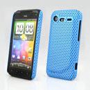 Coque HTC Incredible S G11 S710e Filet Plastique Etui Rigide - Bleue Ciel