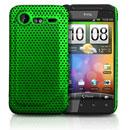 Coque HTC Incredible S G11 S710e Filet Plastique Etui Rigide - Verte