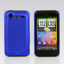 Coque HTC Incredible S G11 S710e Plastique Etui Rigide - Bleu