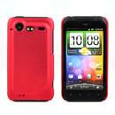 Coque HTC Incredible S G11 S710e Plastique Etui Rigide - Rouge