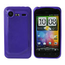 Coque HTC Incredible S G11 S710e Silicone Gel Housse - Pourpre
