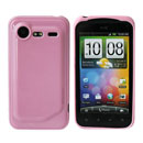 Coque HTC Incredible S G11 S710e Silicone Gel Housse - Rose