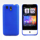 Coque HTC Legend G6 A6363 Filet Plastique Etui Rigide - Bleu