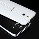 Coque HTC One E8 Silicone Transparent Housse - Clear