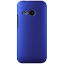 Coque HTC One M8 Mini Plastique Etui Rigide - Bleu