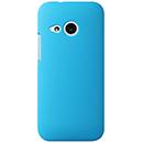 Coque HTC One M8 Mini Plastique Etui Rigide - Bleue Ciel