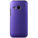 Coque HTC One M8 Mini Plastique Etui Rigide - Pourpre