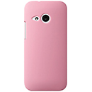 Coque HTC One M8 Mini Plastique Etui Rigide - Rose