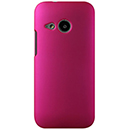 Coque HTC One M8 Mini Plastique Etui Rigide - Rose Chaud
