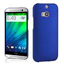 Coque HTC One M8 Plastique Etui Rigide - Bleu