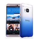 Coque HTC One M9 Degrade Etui Rigide - Bleu