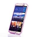 Coque HTC One M9 Flip Silicone Gel Housse - Pourpre