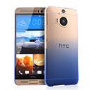 Coque HTC One M9 Plus Degrade Etui Rigide - Bleu