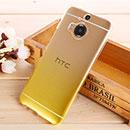 Coque HTC One M9 Plus Degrade Etui Rigide - Jaune