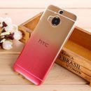 Coque HTC One M9 Plus Degrade Etui Rigide - Rose Chaud