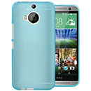 Coque HTC One M9 Plus Silicone Transparent Housse Gel - Bleue Ciel
