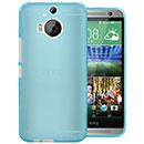Coque HTC One M9 Plus Silicone Transparent Housse Gel - Bleue Ciel