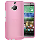 Coque HTC One M9 Plus Silicone Transparent Housse Gel - Rose