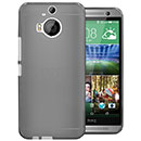 Coque HTC One M9 Plus Silicone Transparent Housse - Gris